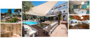 Fotografía de la portada de Inicio de Acora Ibiza